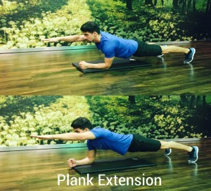 Plank Extension