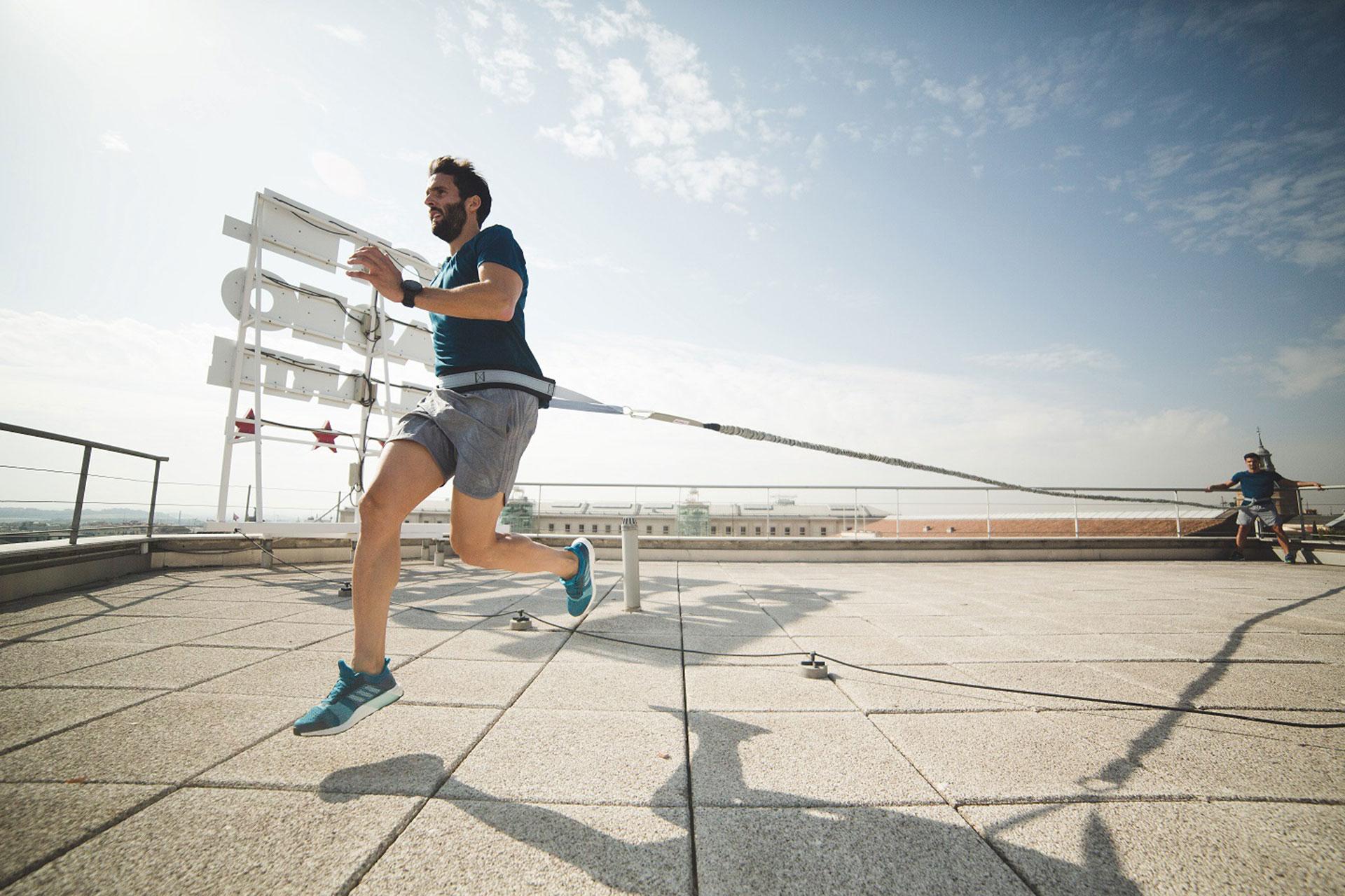 Estrena gimnasio entrenando al aire libre